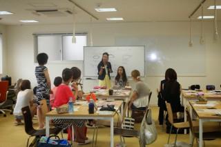 Smart Life合同会社 鄭和恵さんがKO-TOでワークショップを開催されました