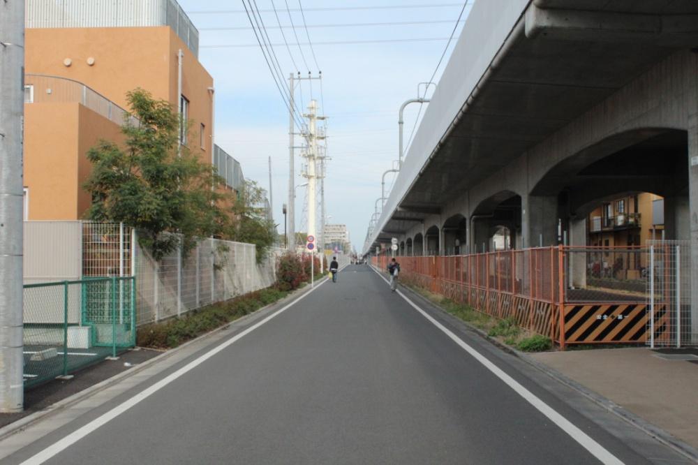 KO-TO前の道が武蔵境までつながりました!